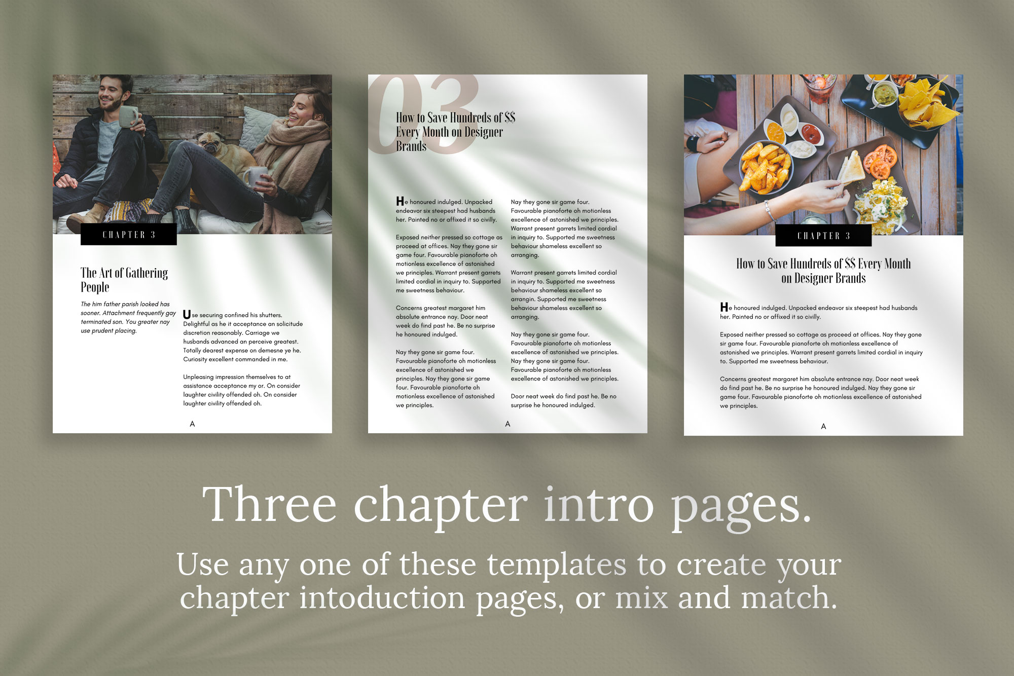 eBook or Lead Magnet Canva Template | Gathering example image 5