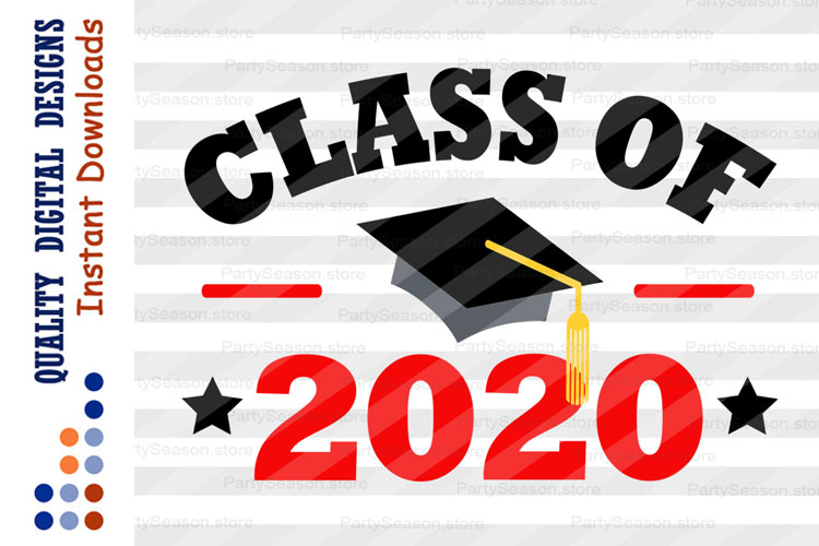 Class of 2020 Svg files Graduation svg example image 1