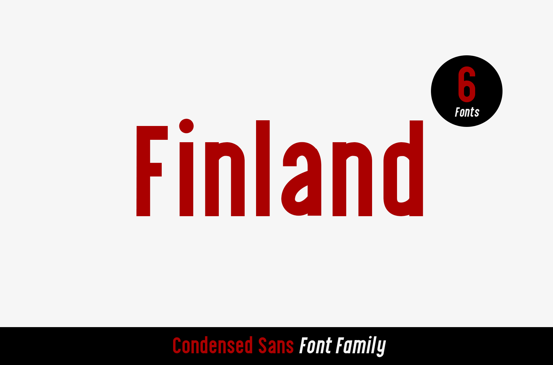 Finland Font Family example image 1