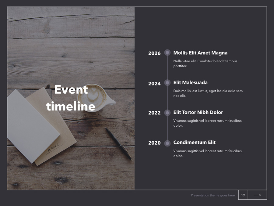 Latte Keynote Template example image 20