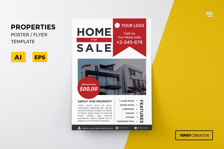 Properties Flyer example image 1