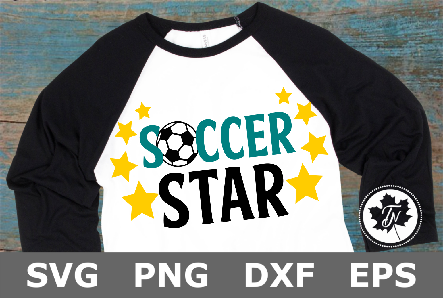 Soccer Star- A Sports SVG Cut File example image 2