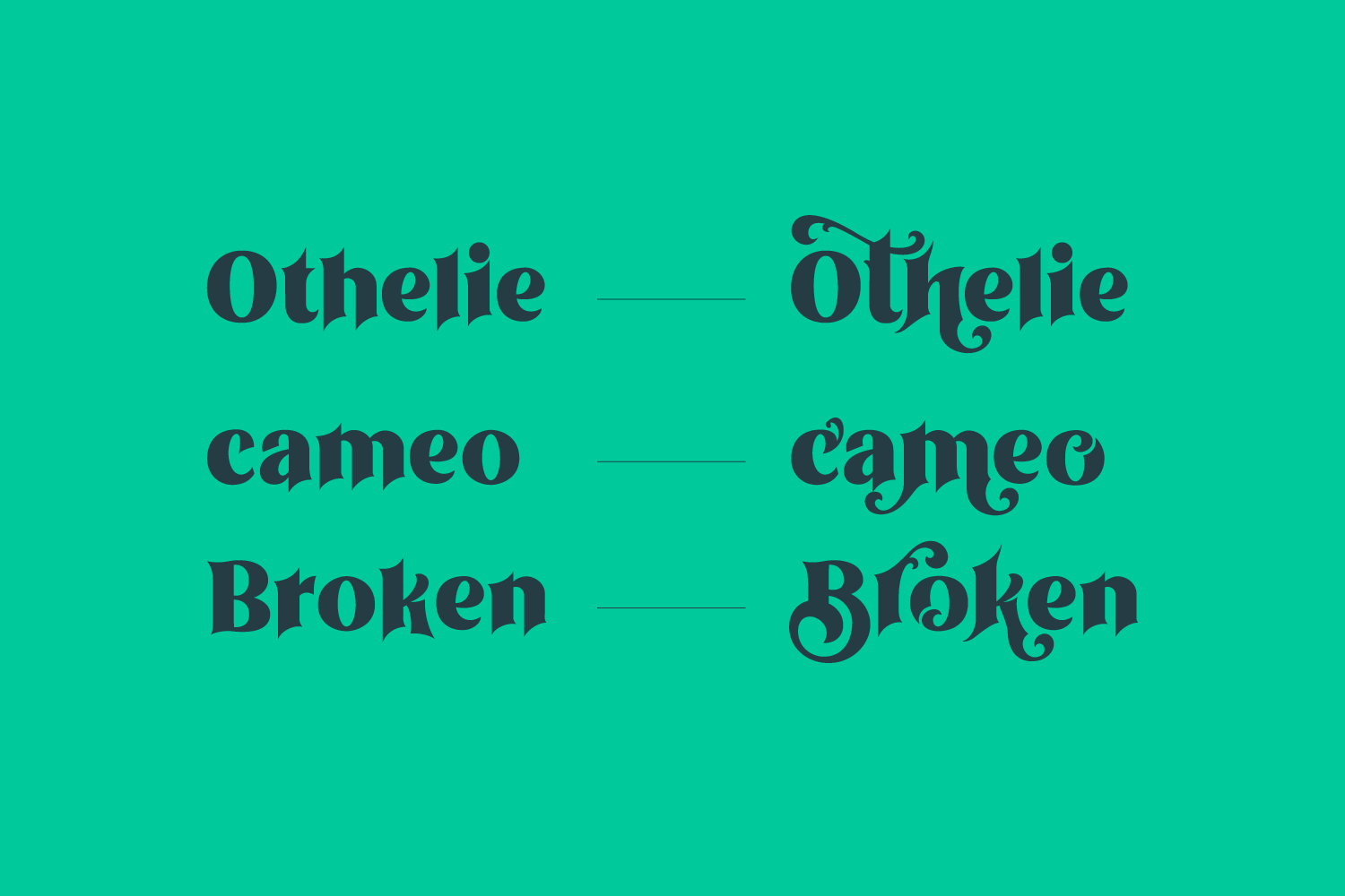 Othelie Font example image 2