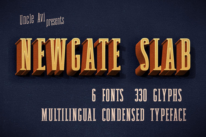Newgate Slab example image 1