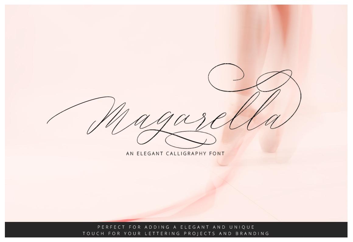 Magarella Script example image 1