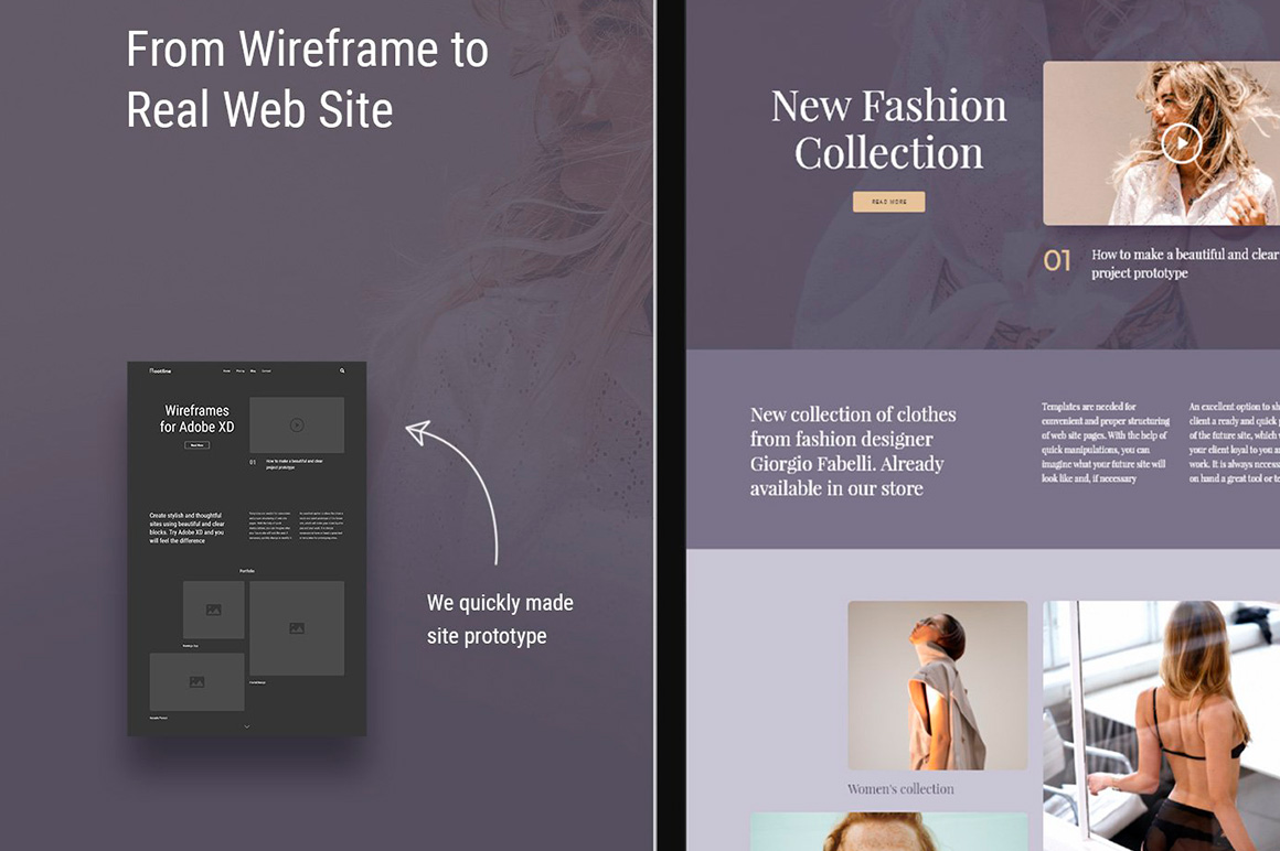 Rootline Wireframe UI Kit example image 6