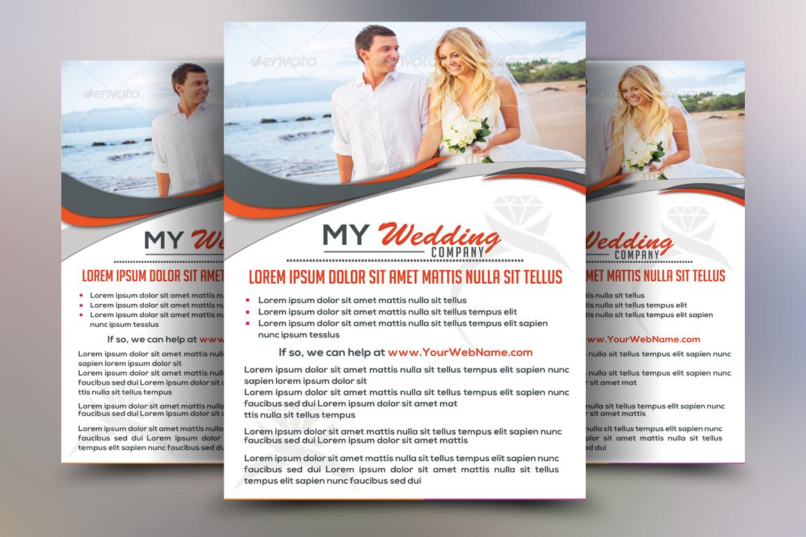 Wedding Flyer Example Image 2