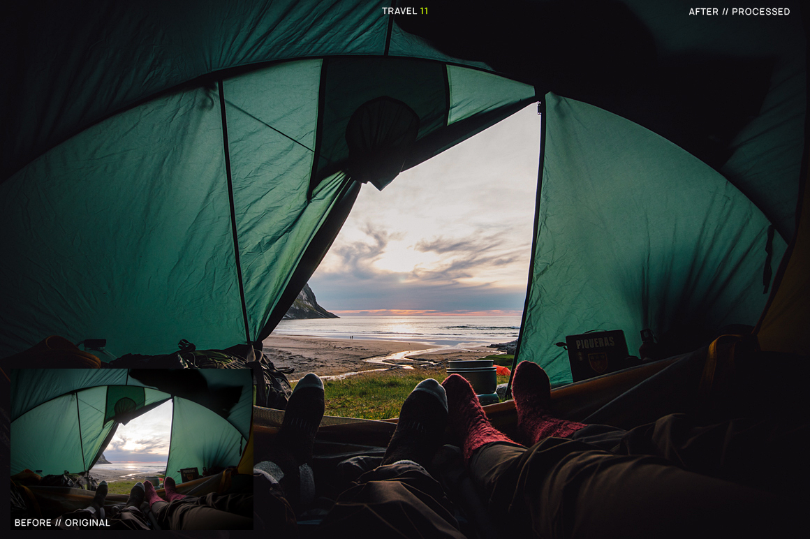 25 Travel Presets for Lightroom example image 13