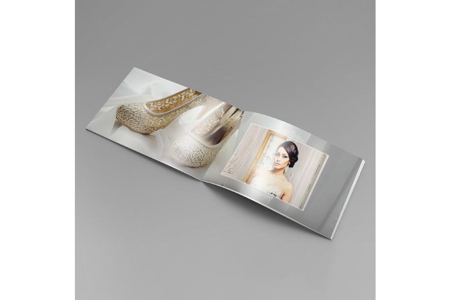 Wedding album Template A4 Landscape example image 2