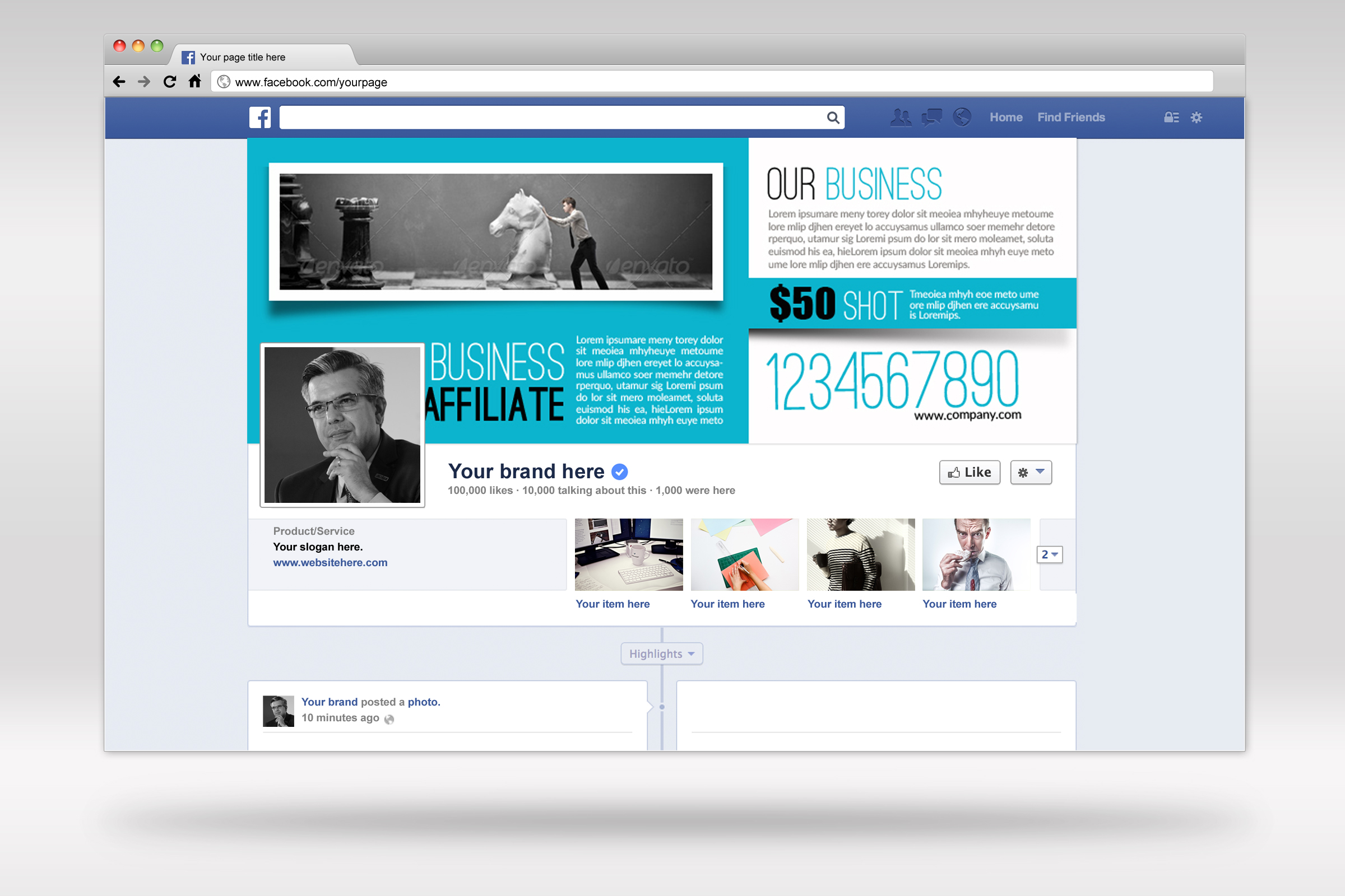 Business Innovation Facebook Timeline example image 2