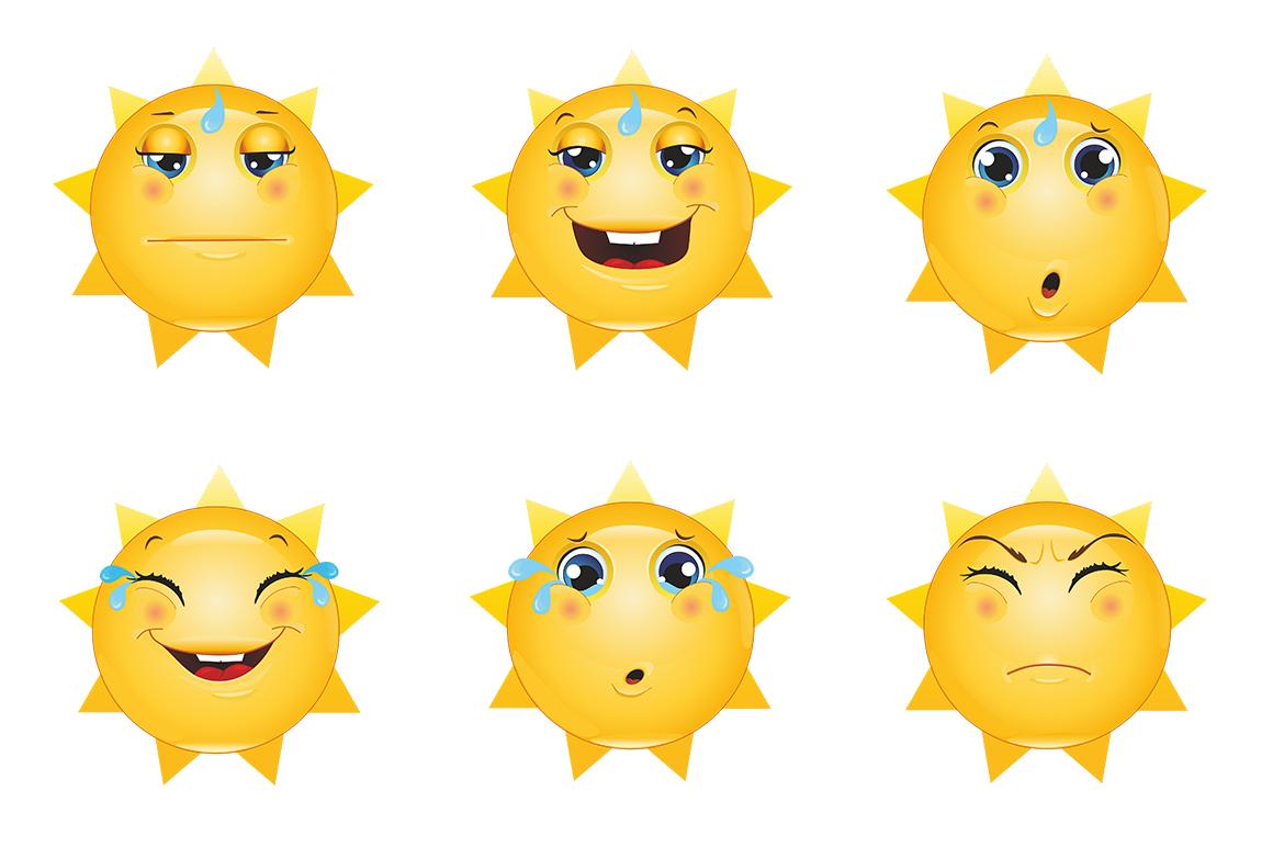 Emoticons Sun example image 7