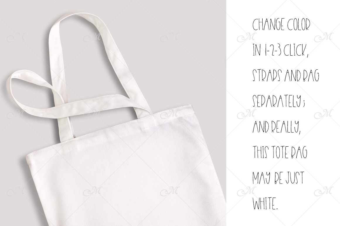 tote bag mock up psd smart objects example image 4