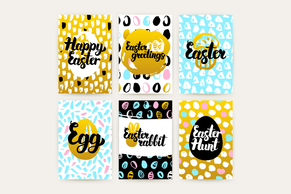 Easter Greetings Posters example image 3