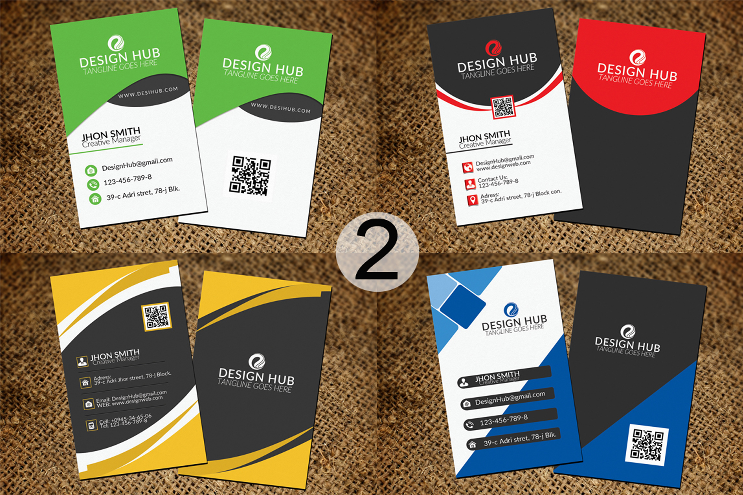 32 Business Cards Bundle Deal example image 3