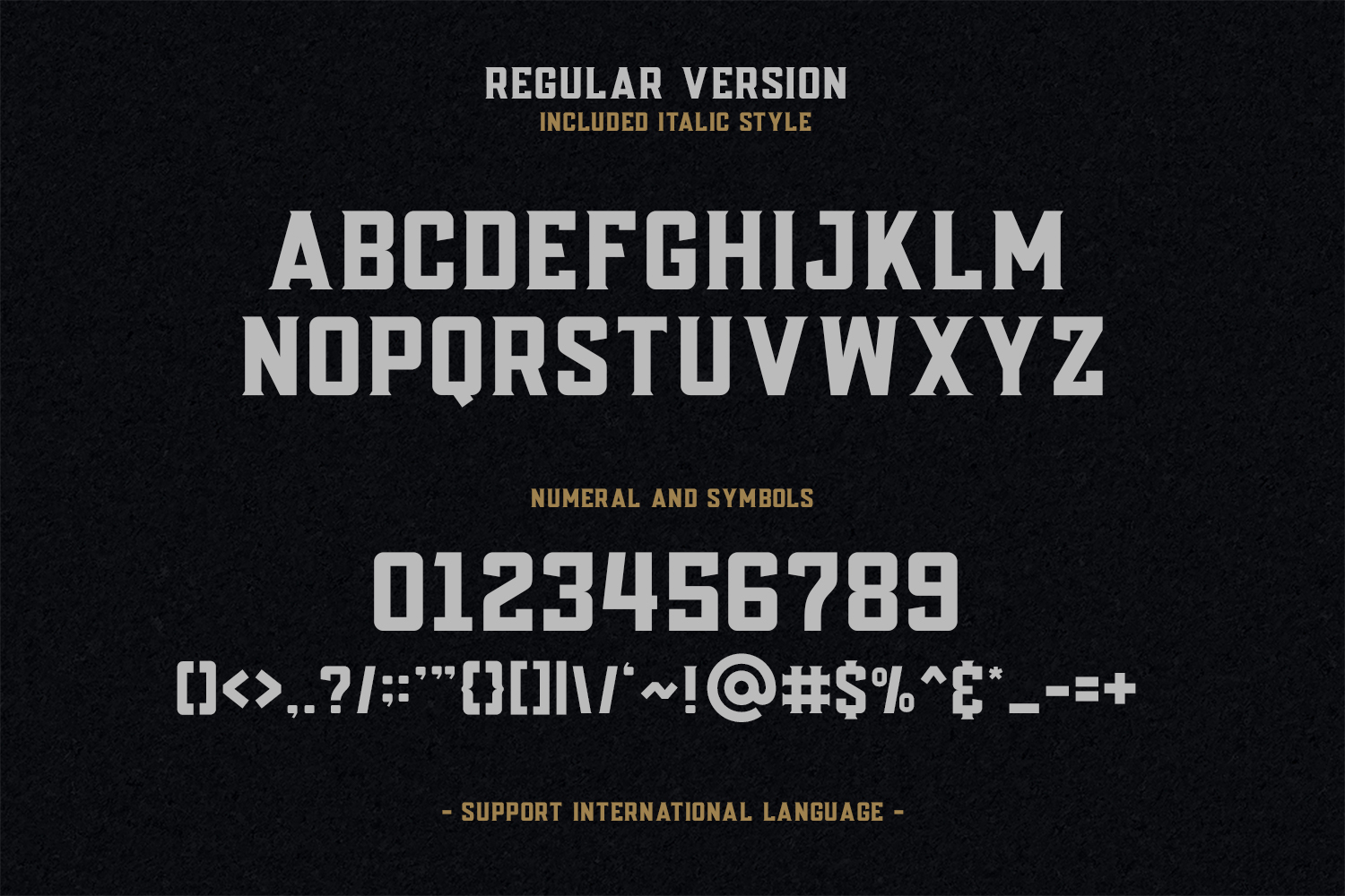 Posey - Vintage Type | 4 Font Files example image 4