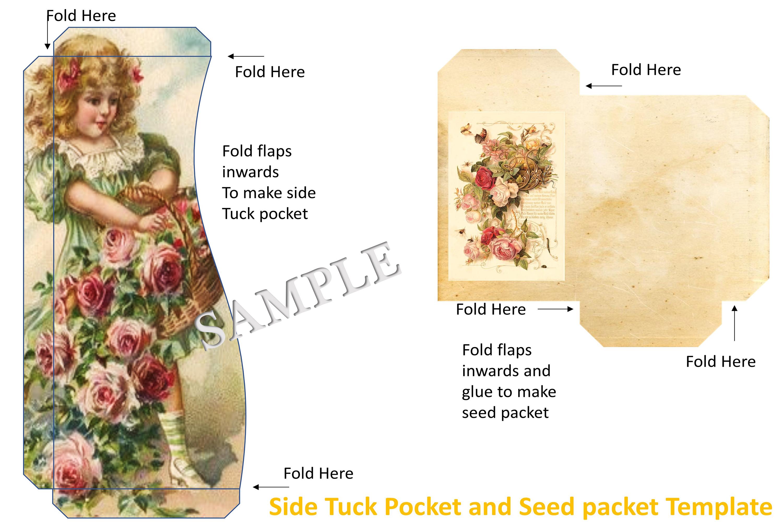 Journaling Kit with free ephemera & Clipart JPEG, PNG & PDF example image 10