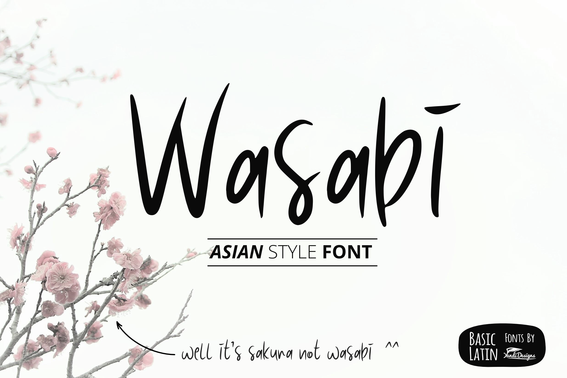 Asian Font Bundles by YandiDesigns example image 16