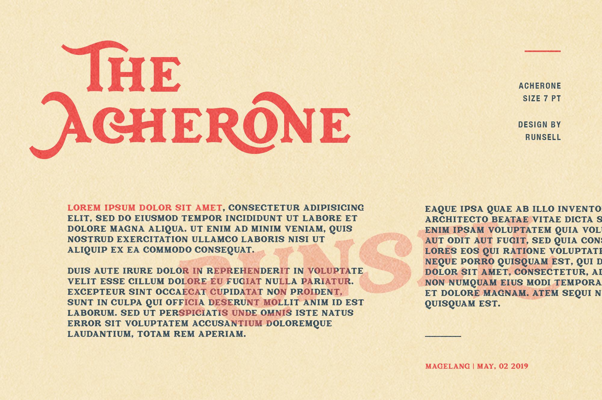 Archerone - Serif Display Font example image 7
