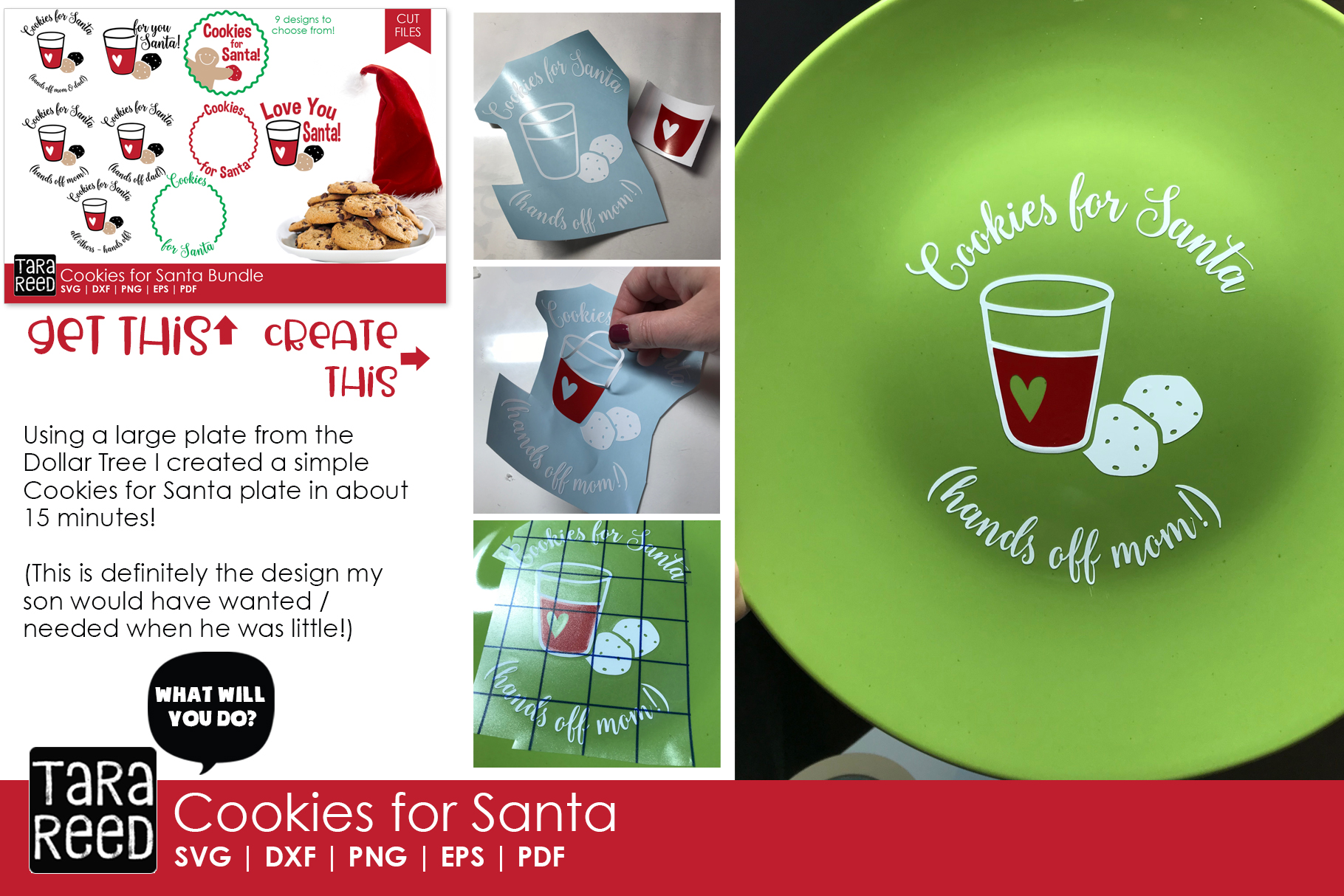 Kids Christmas MEGA Bundle - SVG and Cut Files for Crafters example image 7