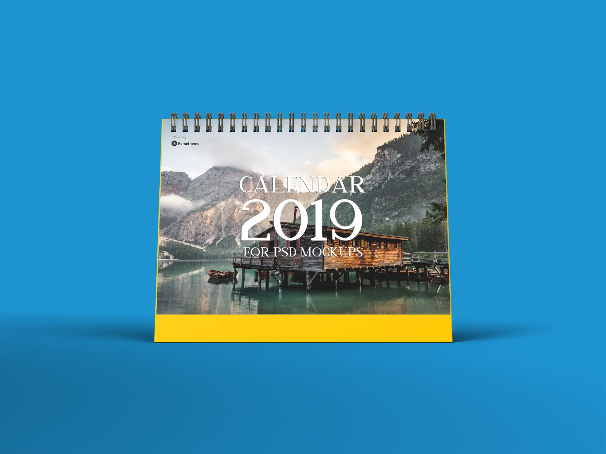 Calendar Table Mockups vol.1 example image 2