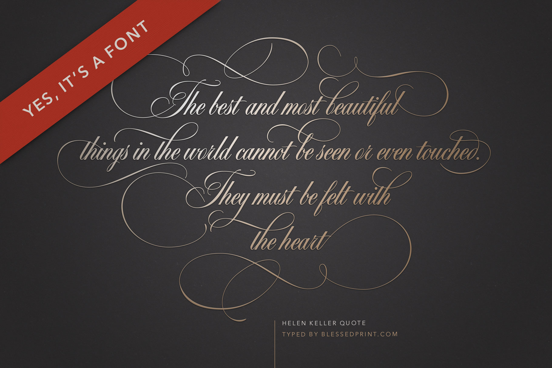 Black & White - premium quality font example image 2
