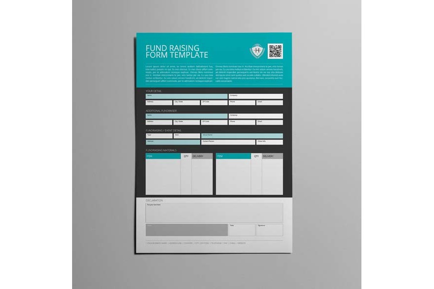 Fund Raising Form Template example image 2