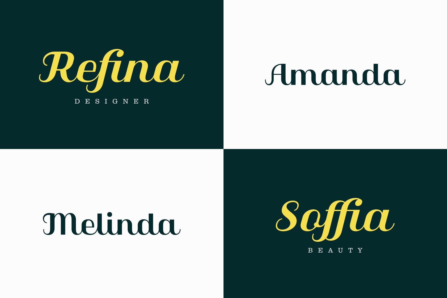 Qilla Typeface example image 3