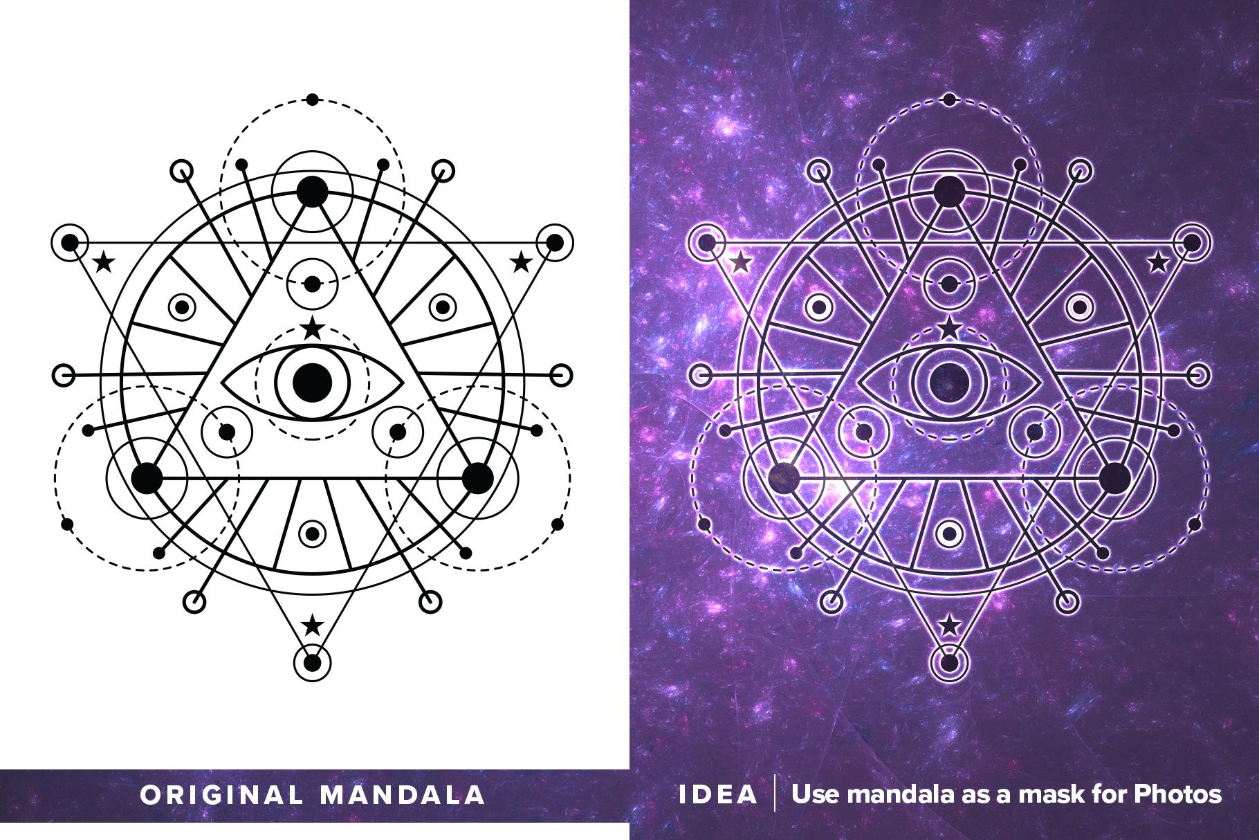 300 Vector Mandala Ornaments example image 28