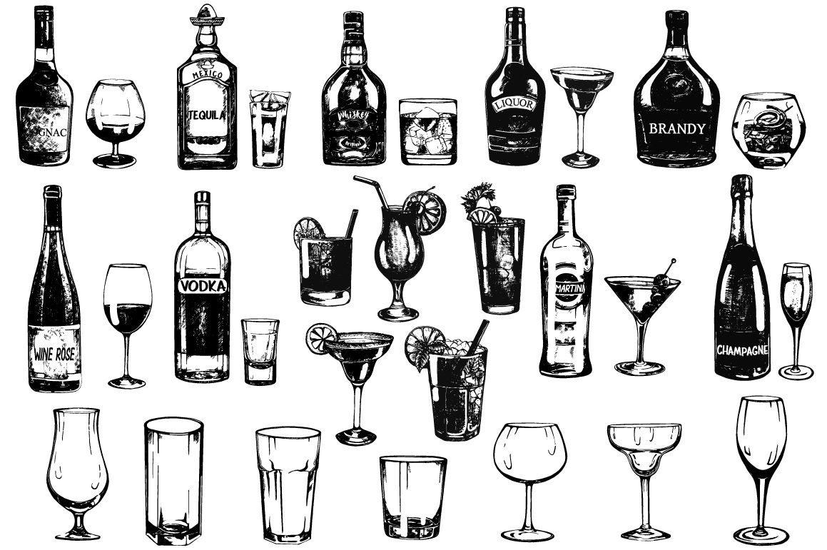 Cocktails, Drinks & Glasses example image 1