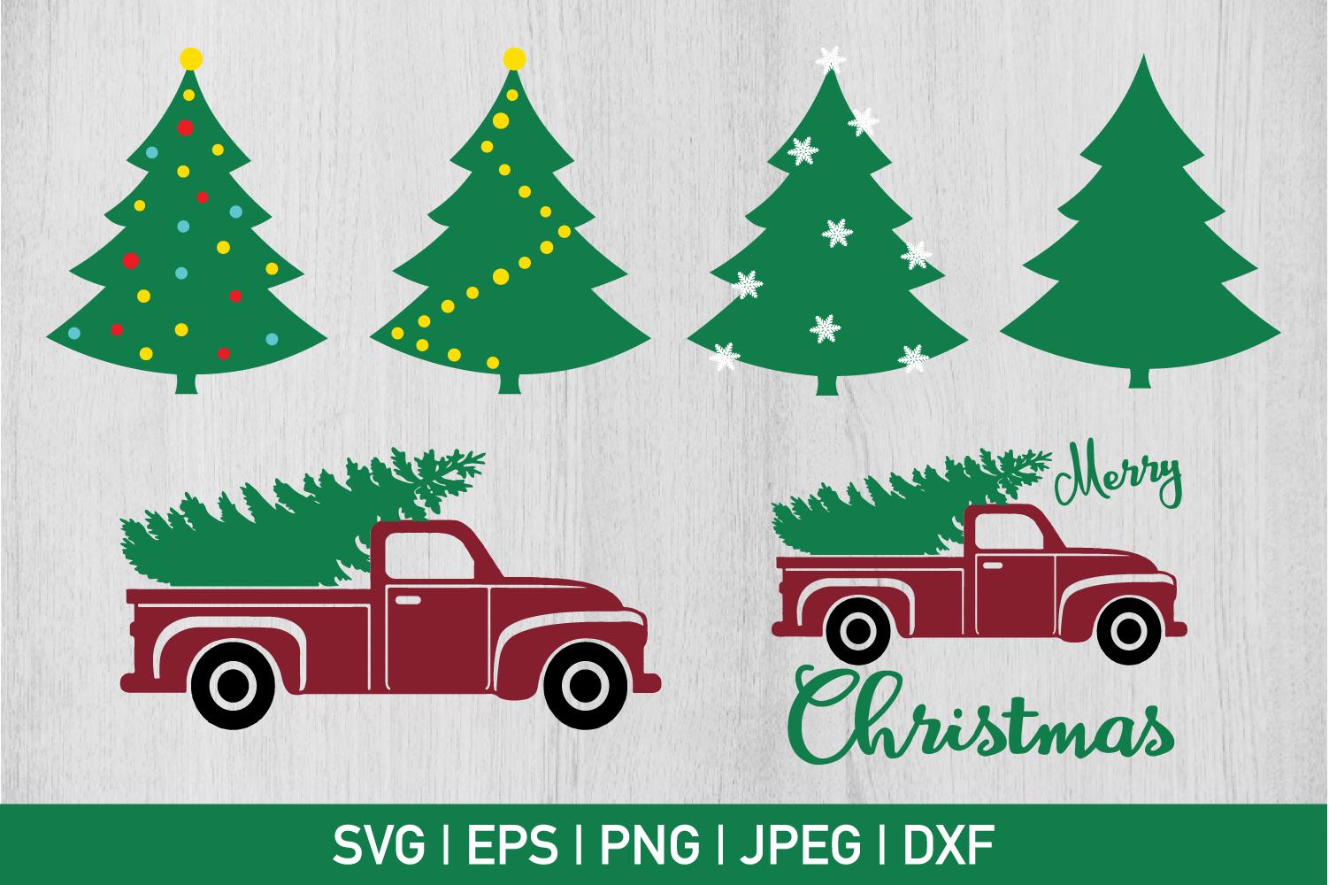 Christmas Tree Bundle example image 1