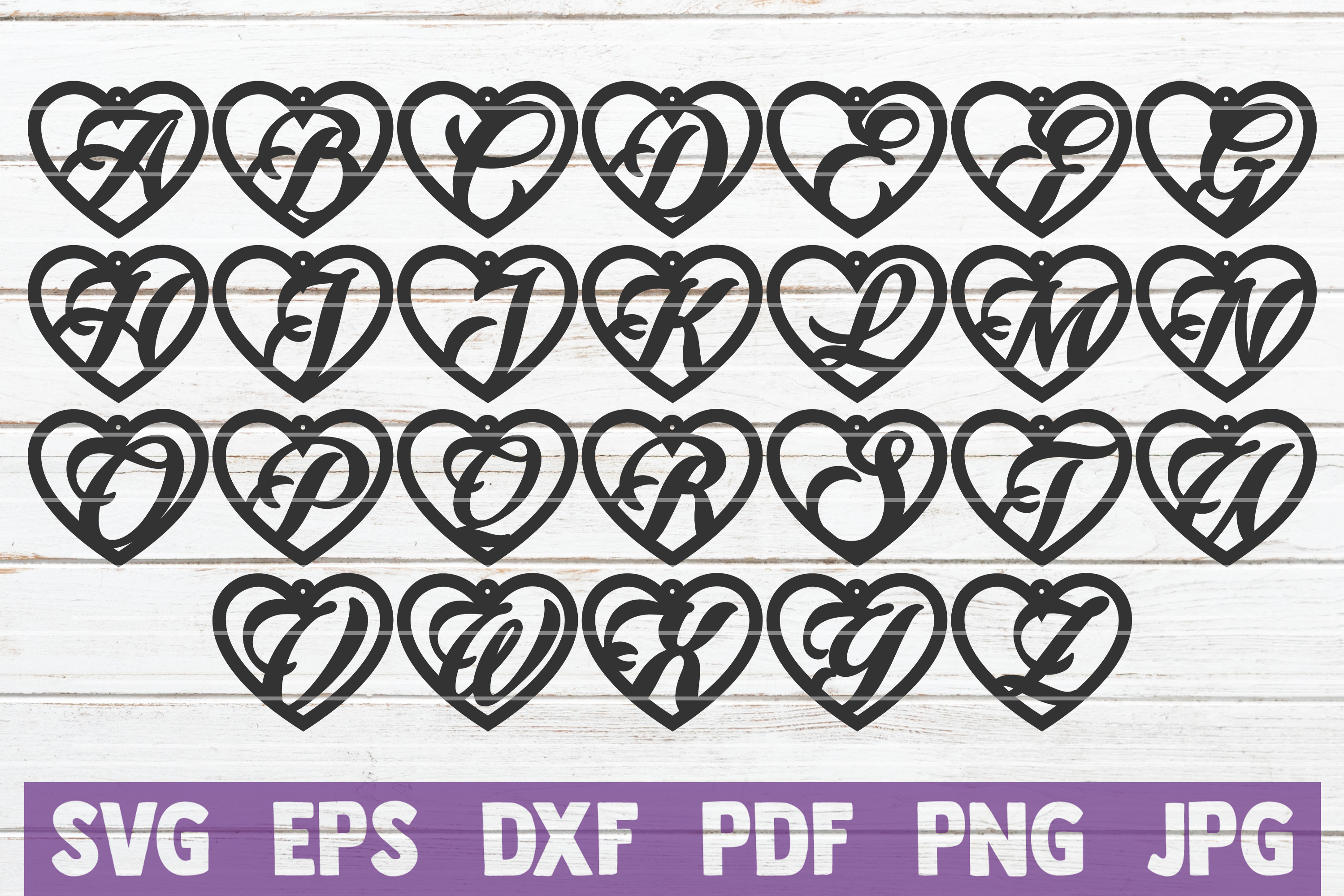 Alphabet Earrings Bundle | SVG Cut Files | commercial use example image 4
