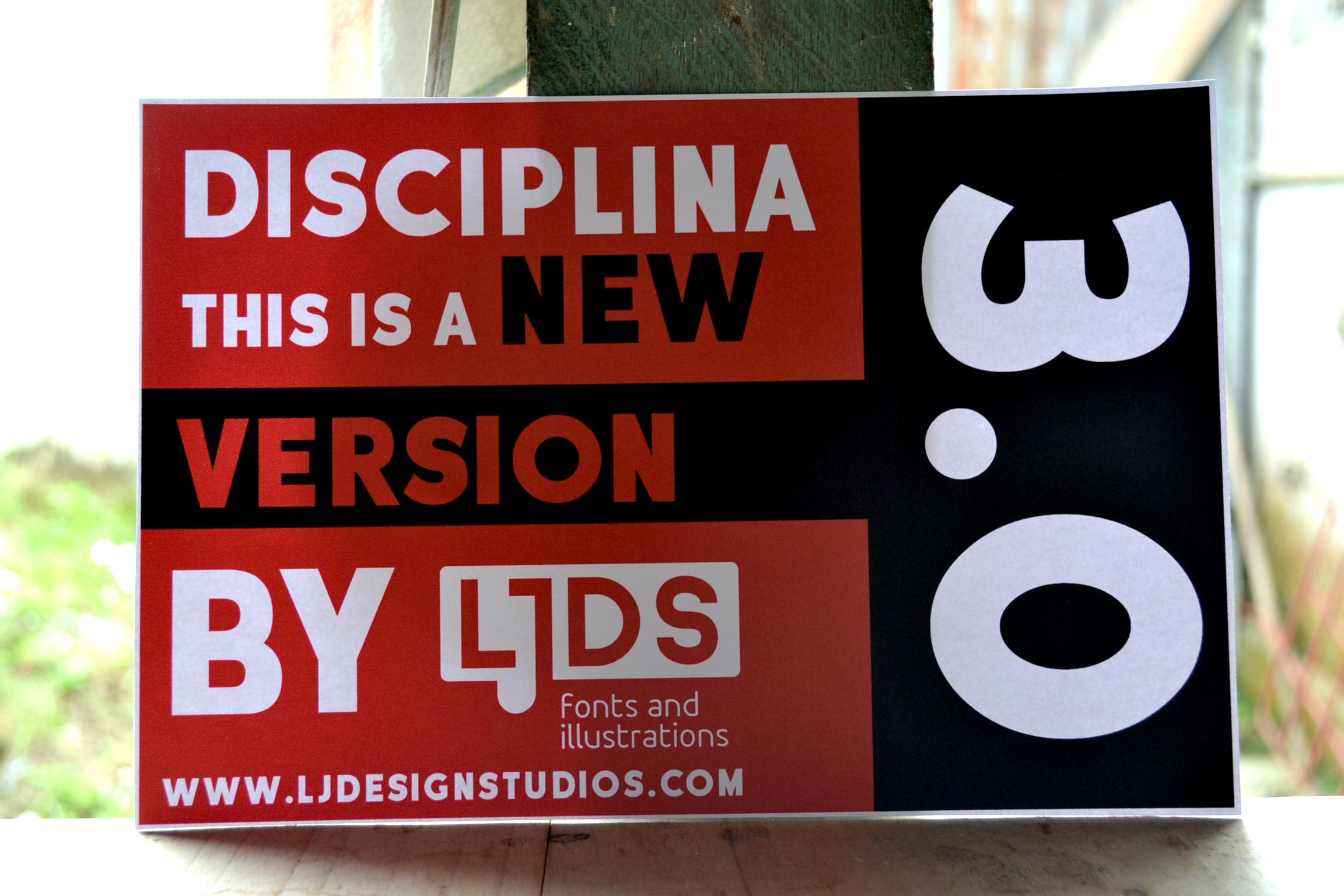 Disciplina example image 1