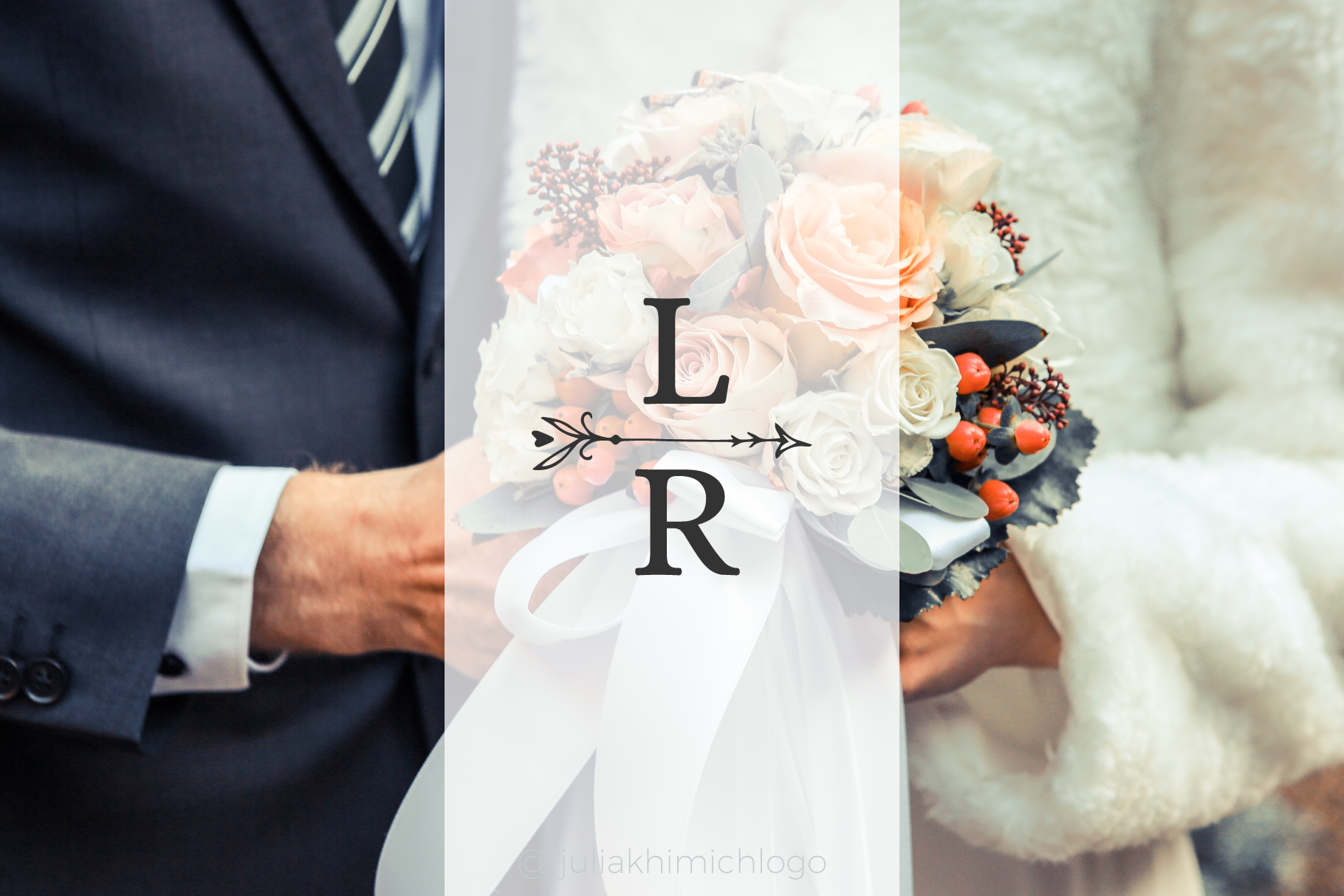 Logo Pack Vol.2. Romantic & Wedding example image 13