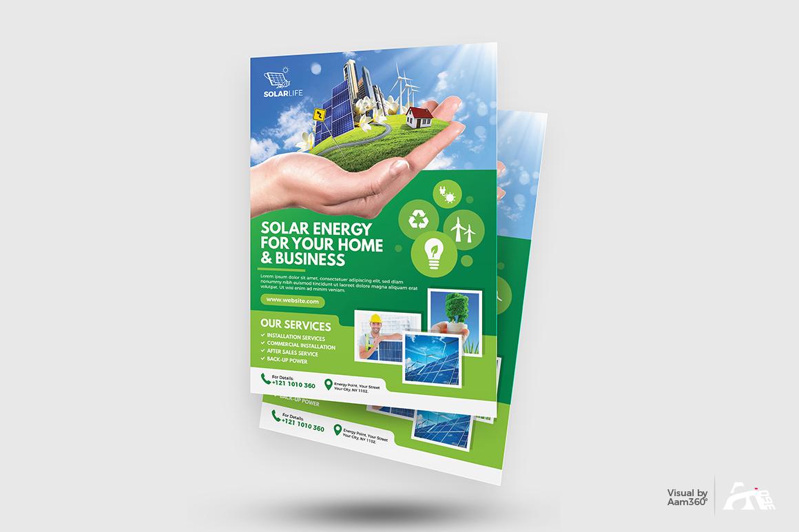 Green Energy Flyer example image 2
