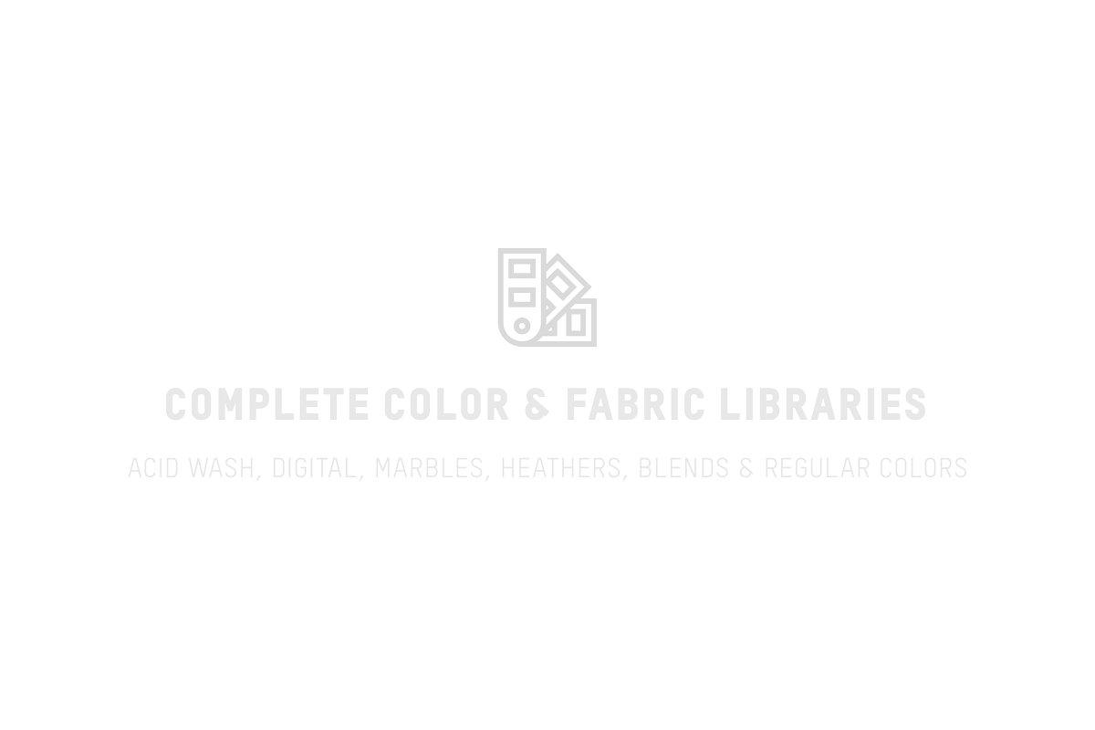 Comfort Colors 1717 Adult Tee Mocks example image 4
