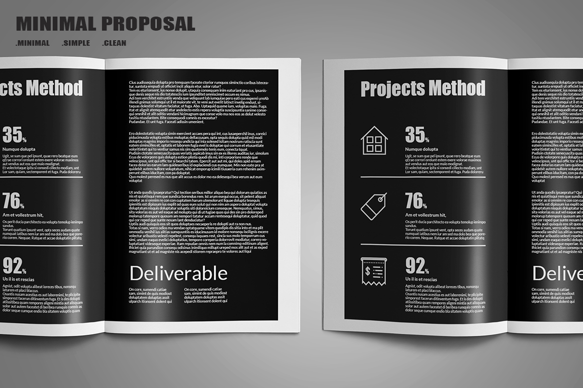 Minimal Proposal Template example image 3
