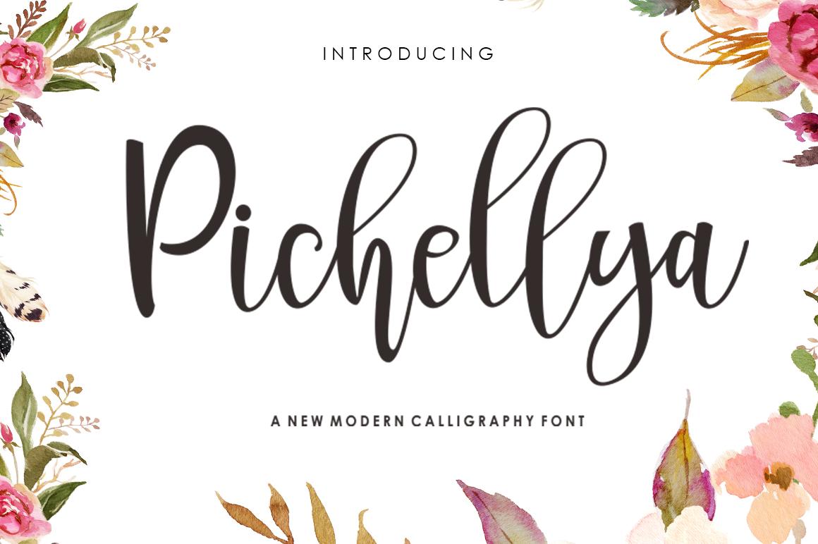 Pichellya Script example image 1