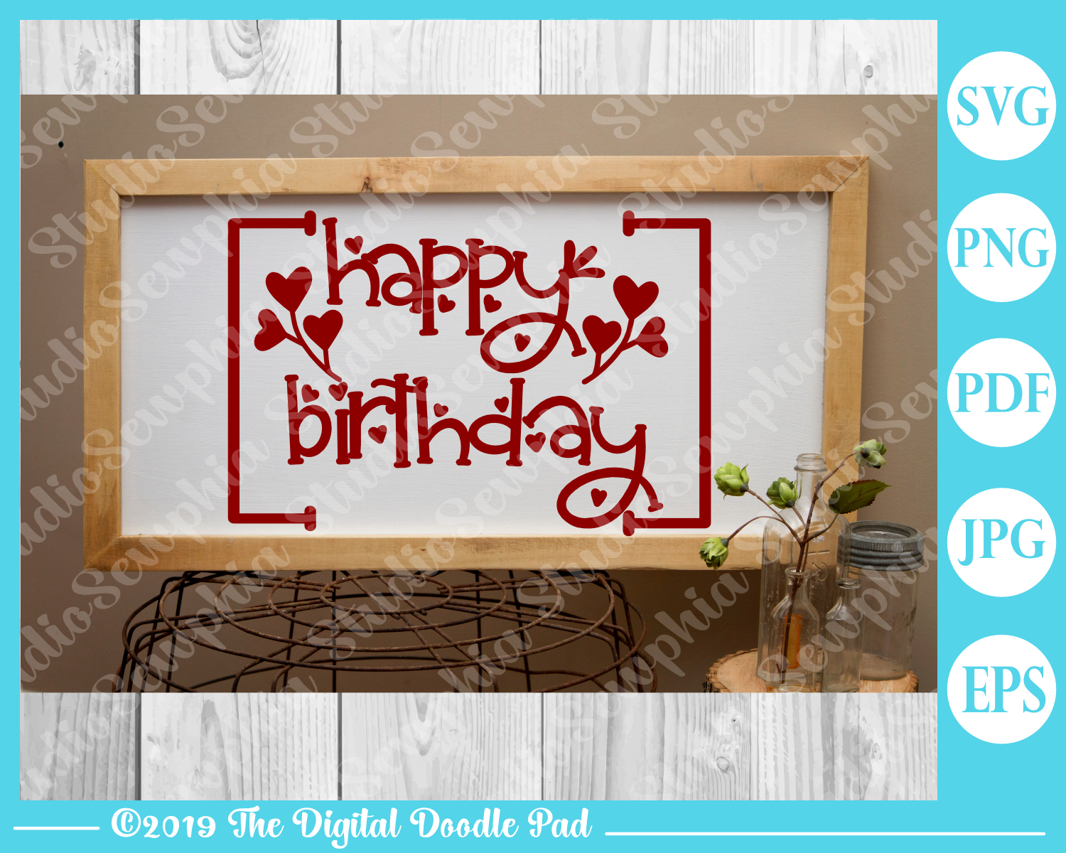 Happy Birthday by Digital Doodle Pad example image 3