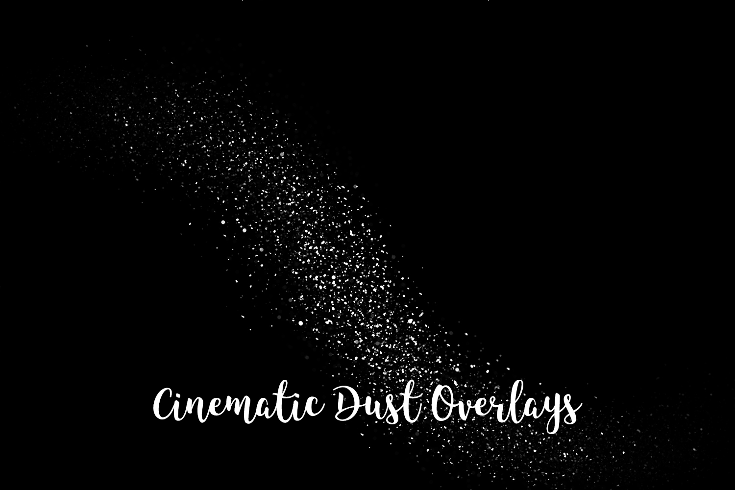 Cinematic Dust Photo Overlays, Bokeh Light Effects example image 6