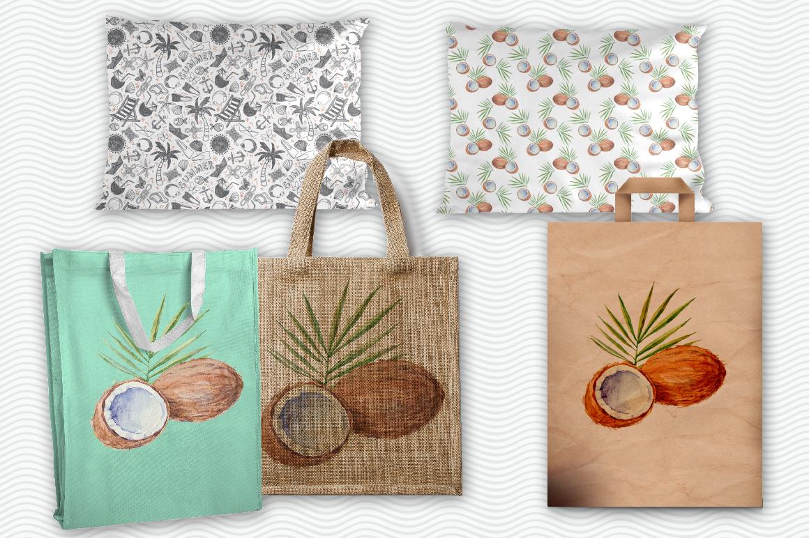 Coconut set example image 8