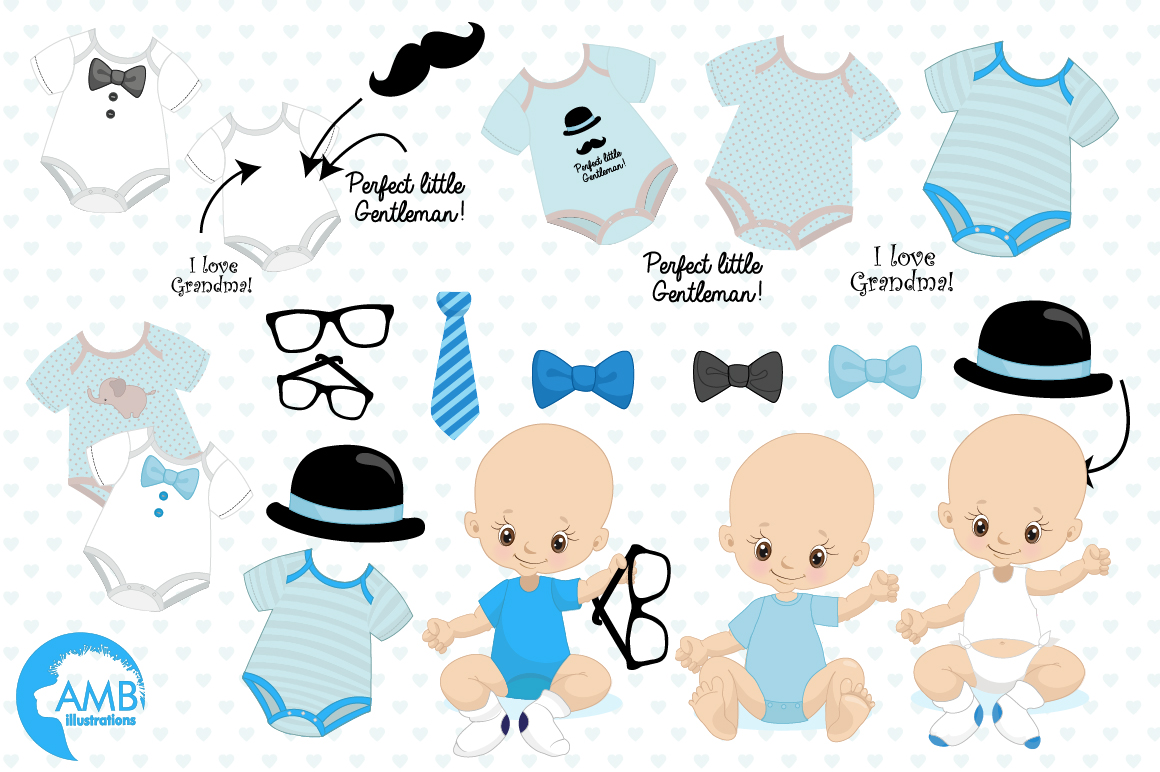 Little Man clipart, graphics, illustrations AMB-1291 example image 5