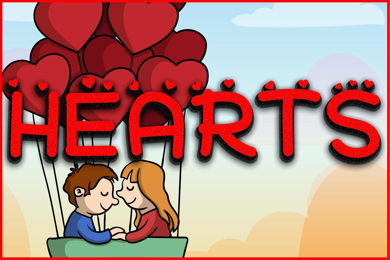 Hearts + Bonus Hearts example image 1