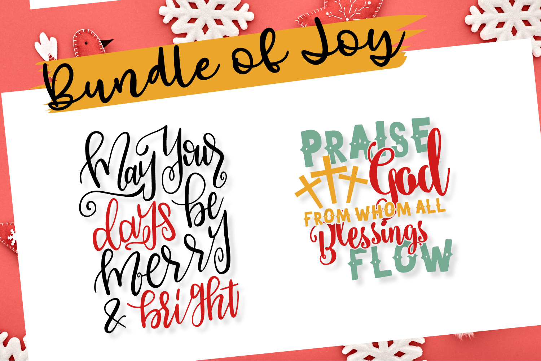 Bundle Of Joy - Christmas SVG Bundle  example image 8