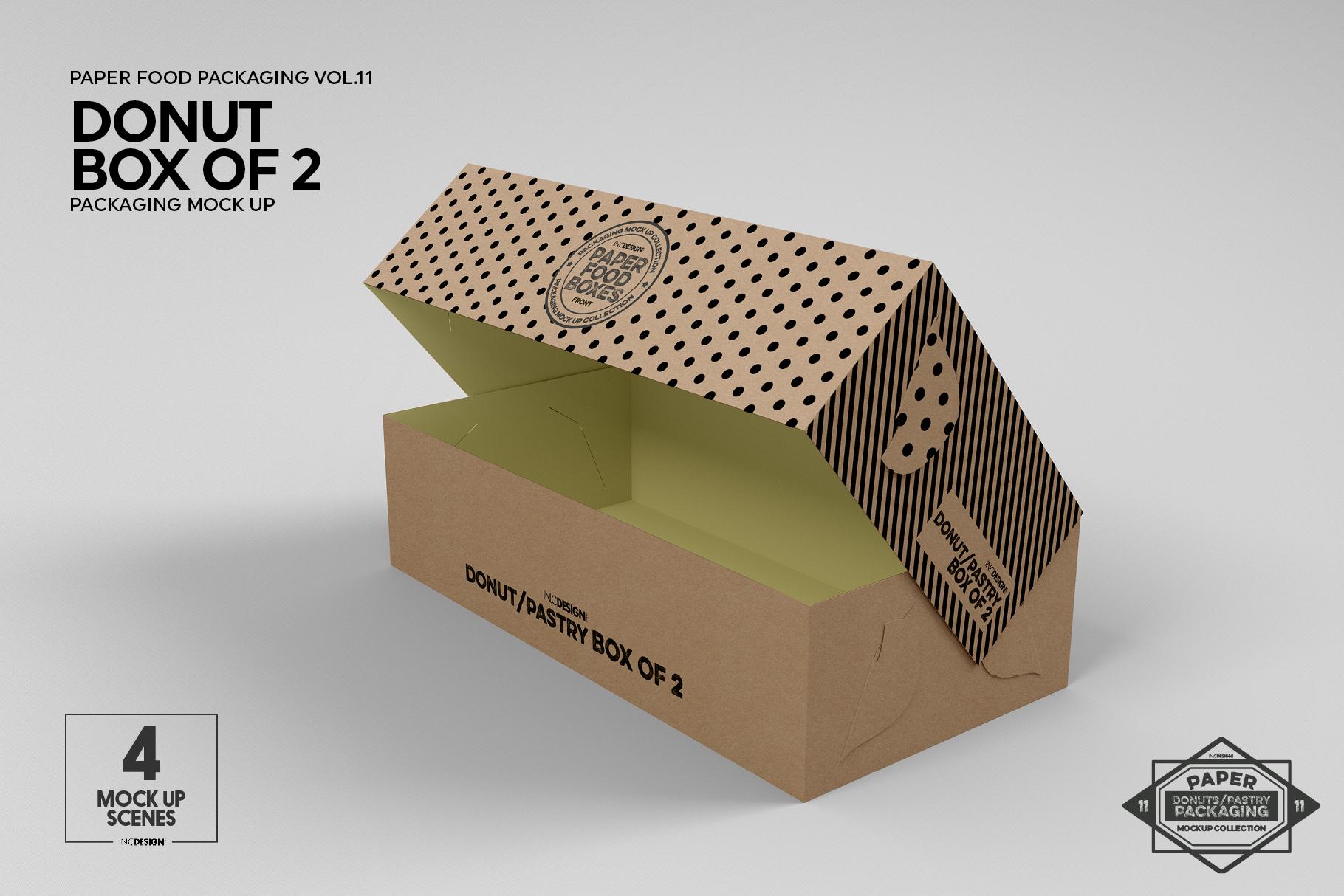VOL.11 Food Box Packaging MockUps example image 11
