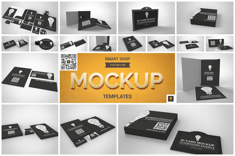 Branding Stationary Mockup Set example image 1