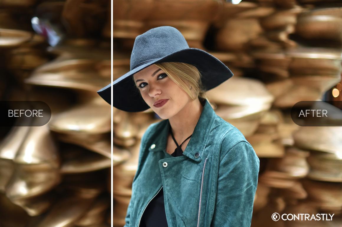 Portrait Series Photoshop Actions example image 3