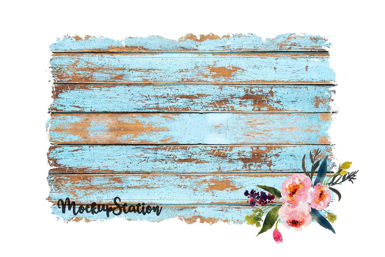 Sublimation Wood Background PNG Bundle, Frame Clip Art example image 3