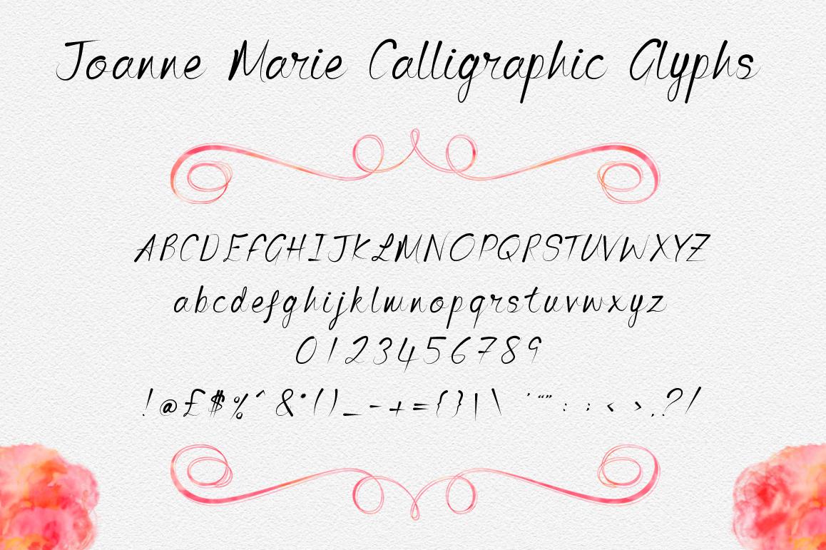 Joanne Marie Calligraphic example image 2