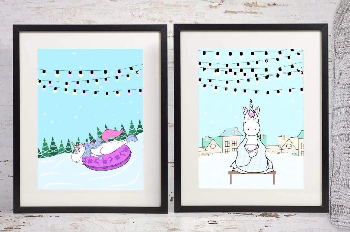 Unicorn's winter  example image 8
