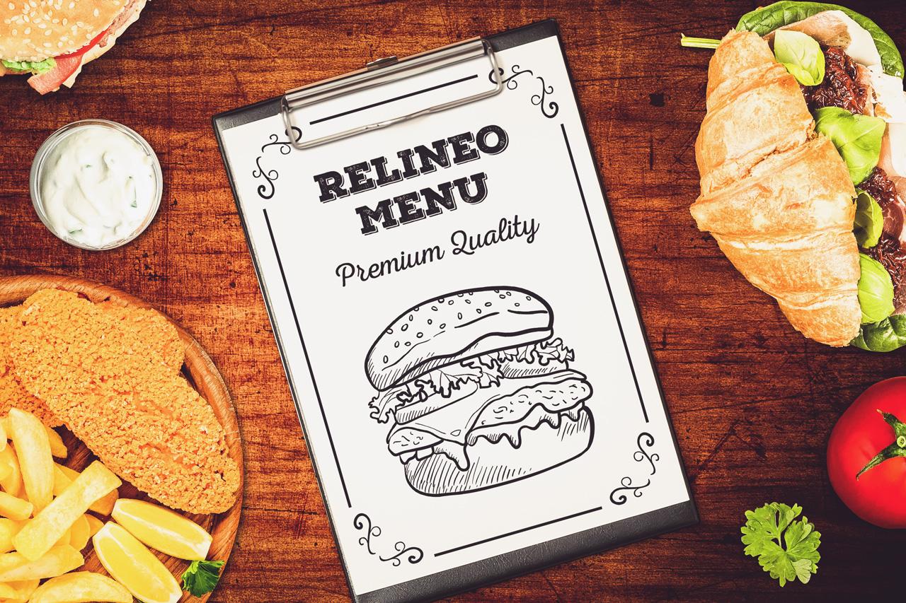 Fast Food Menu Mock-up Pack#2 example image 4